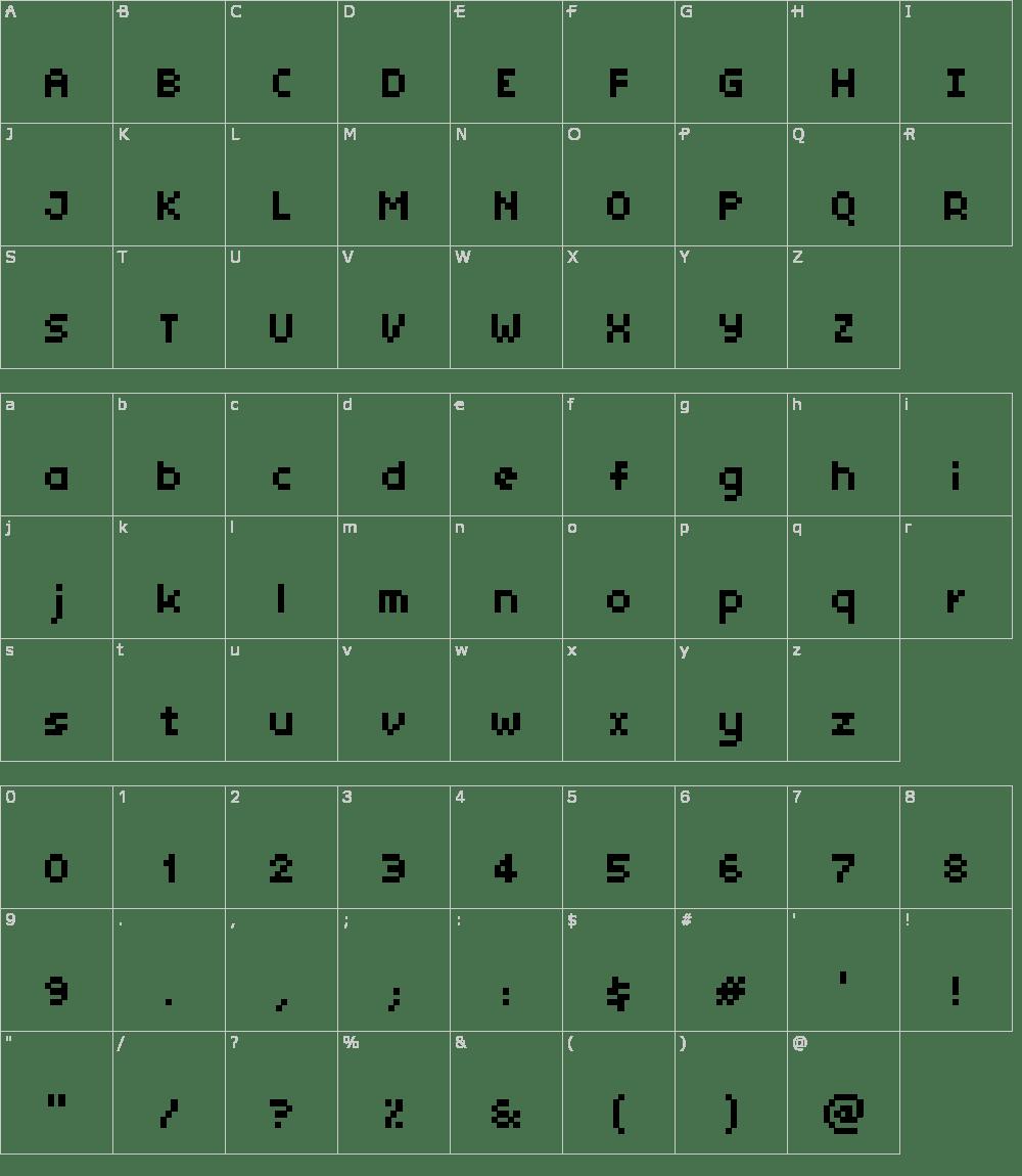Tiny Unicode Font Download