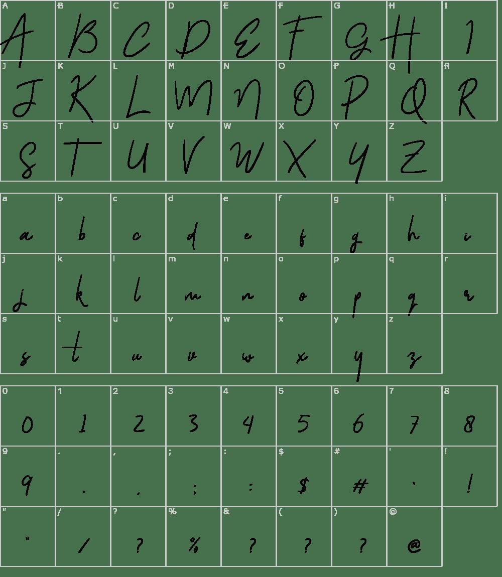 Download Gloriant Signature Font Download