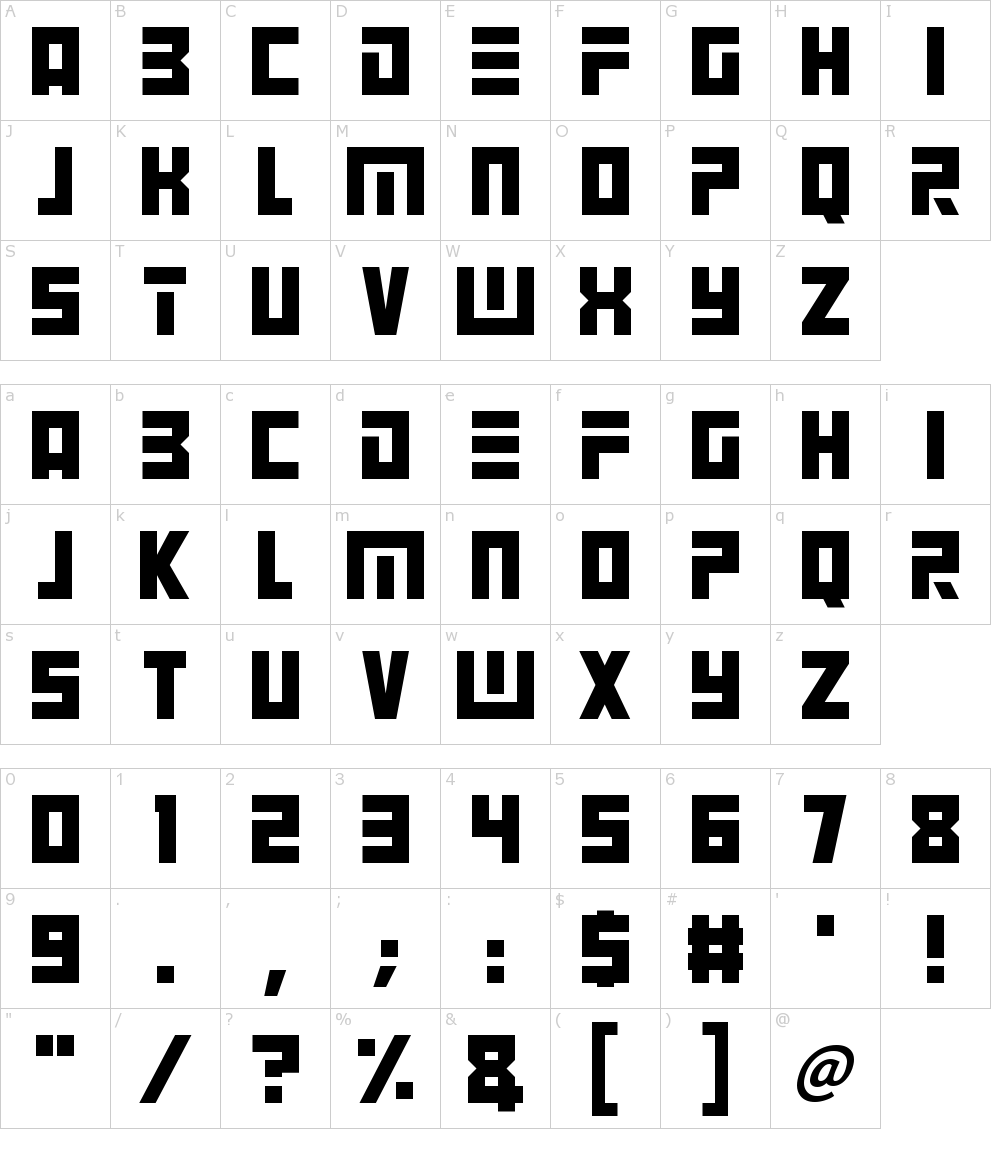 Download Angry Android Font Download