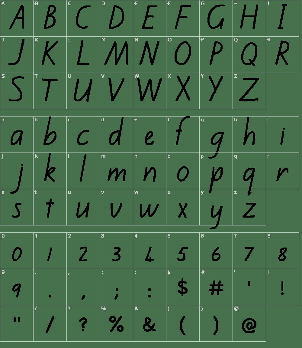 Kiwi School Handwriting Font Download