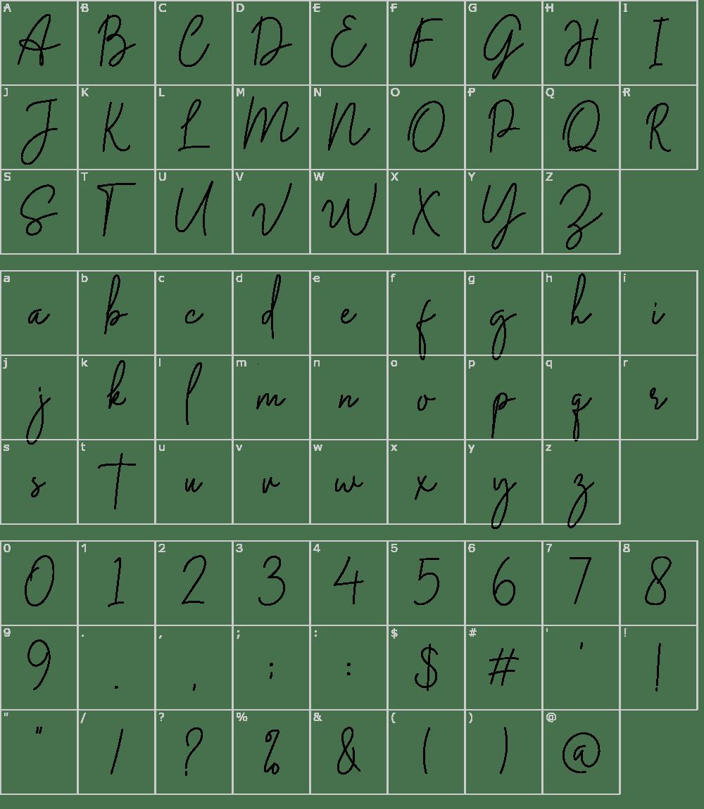 Download Midnight Signature Font Download