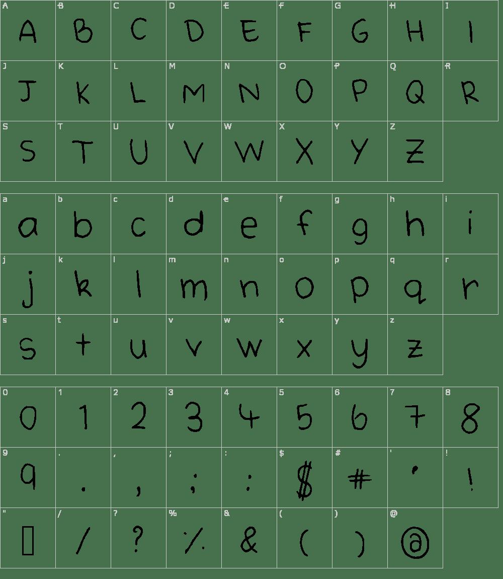 Cute Handwriting Font Download