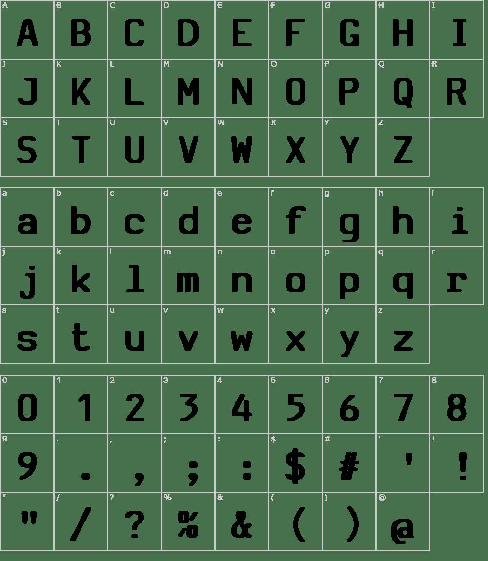 SV Basic Manual Font Download
