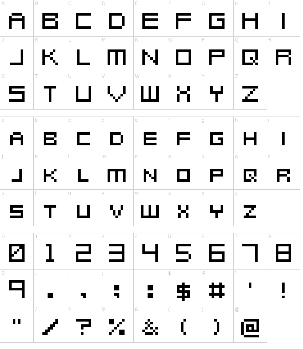Metroid Prime Hunters Font Download