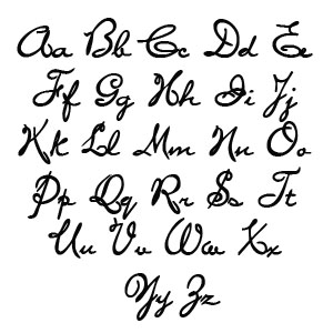 Cursive Block Letters Generator | mamiihondenk org