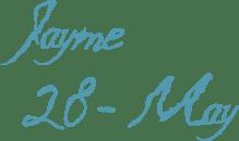 caligraf-1435-font