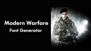 Read more about the article Modern Warfare Font