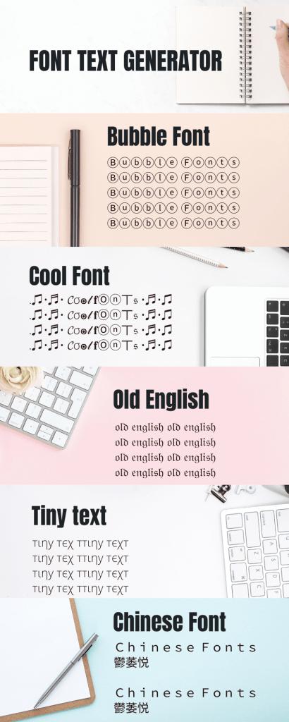 Font Text Generator