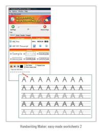 Fonts4teachers | Handwriting Worksheet Maker | Dots ...