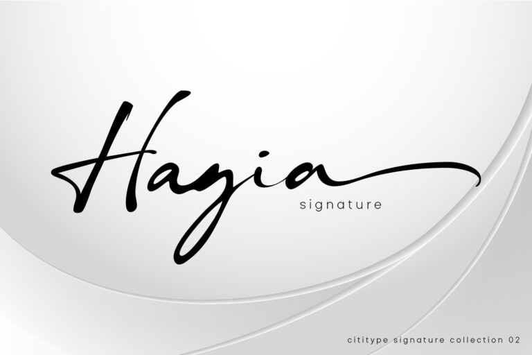 Preview image of Hagia Signature