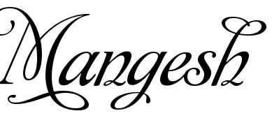 Mangesh Name Tattoo