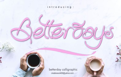 betterday-calligraphic
