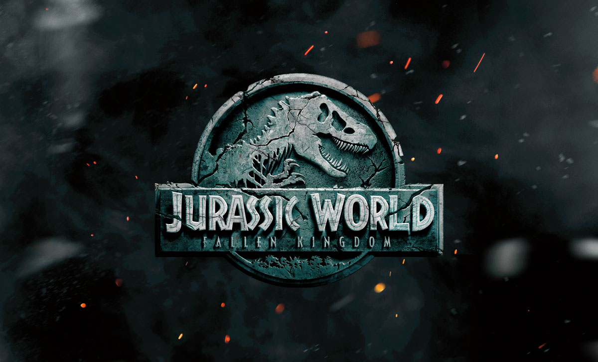 download jurassic world movie font for free  font style