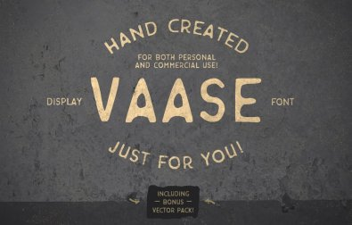 vaase-hand-crafted-font