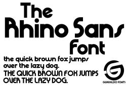 rhino-sans