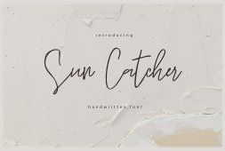 sun-catcher-handwritten-script