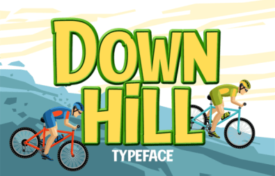 down-hill