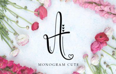 monogram-cute
