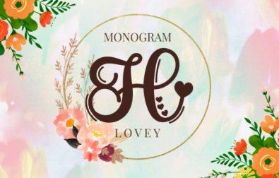 lovey-monogram