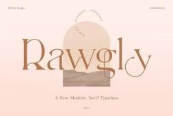 rawgly-a-new-modern-serif-typeface