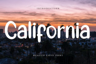 california-font