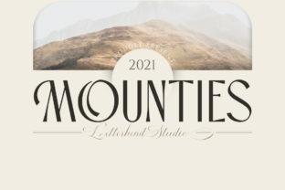 mounties-font