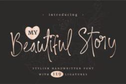 my-beautiful-story-font