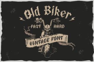 old-biker-font