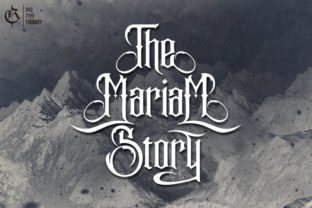 the-mariam-story-font