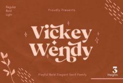 vickey-wendy-font