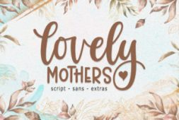 lovely-mothers-font