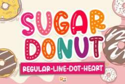sugar-donut-font