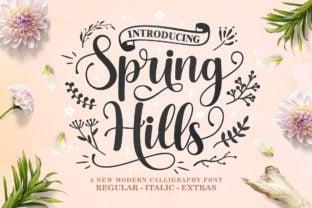 spring-hills-font
