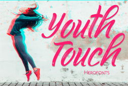 youth-touch-font