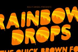 rainbowdrops-font