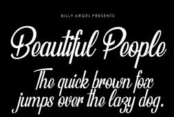 beautiful-people-font