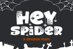 hey-spider-font