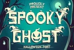 spooky-ghost-font