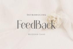 feedback-font