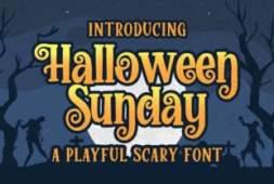 halloween-sunday-font