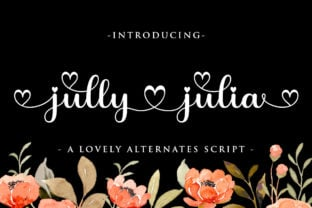 jully-julia-font