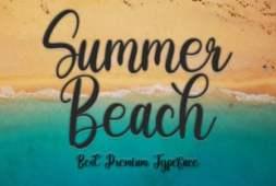 summer-beach-font