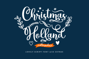 christmas-holland-font