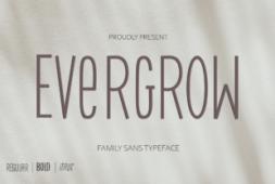evergrow-font
