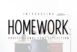 homework-font