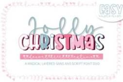 jolly-christmas-font