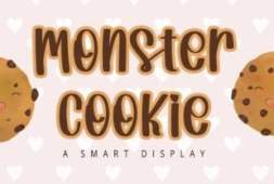 monster-cookie-font