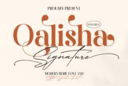 qalisha-signature-font