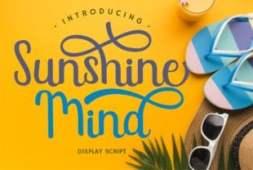sunshine-mind-font