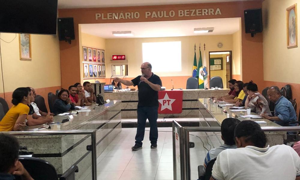 Partido dos Trabalhadores realiza capacitação de pré candidatos nas eleições 2020, em Crato.